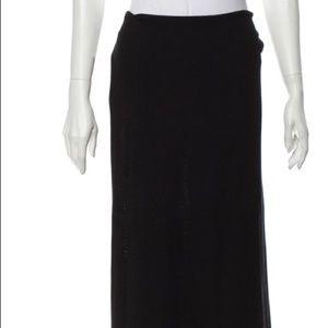 Jacquemus black knit skirt nwt